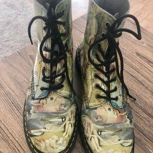 Dr Martens Pascal Heironymous Bosch Heaven Boots